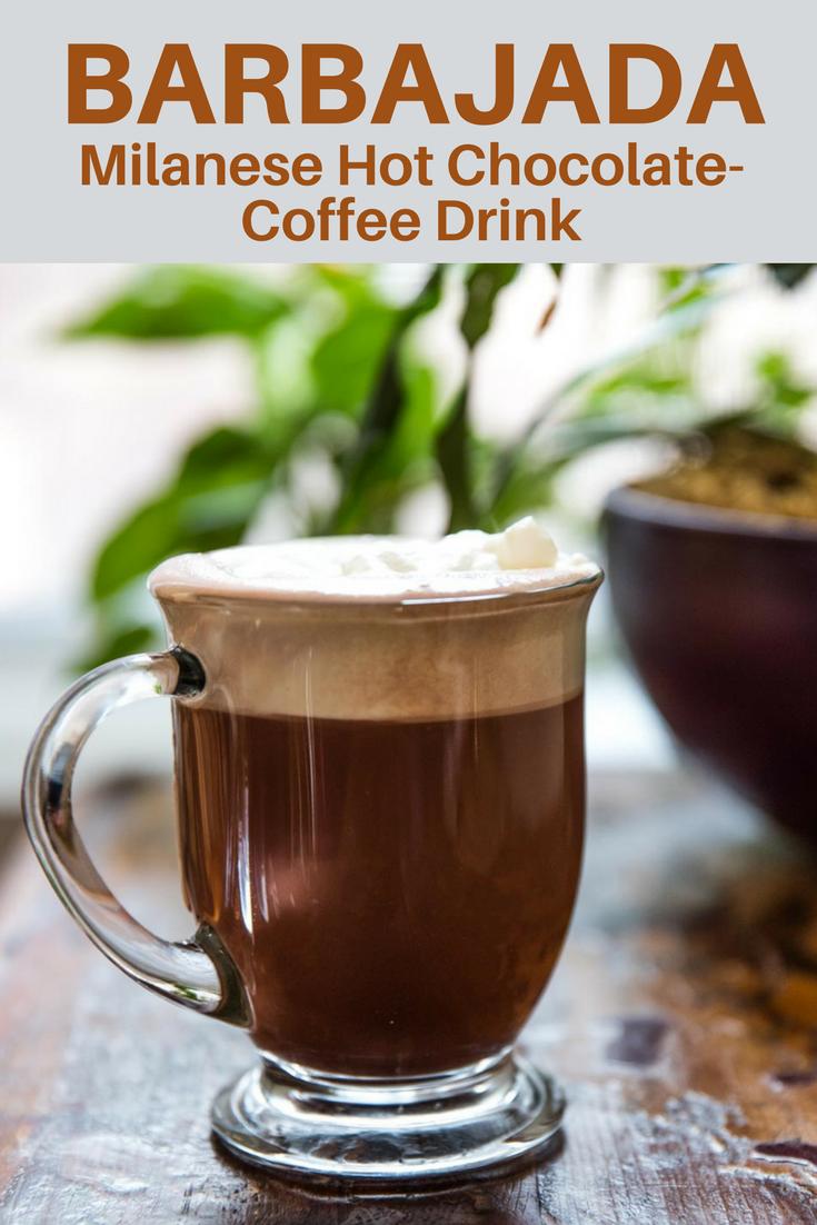 Barbajada (Milanese Hot Chocolate-Coffee Drink) | Rezept