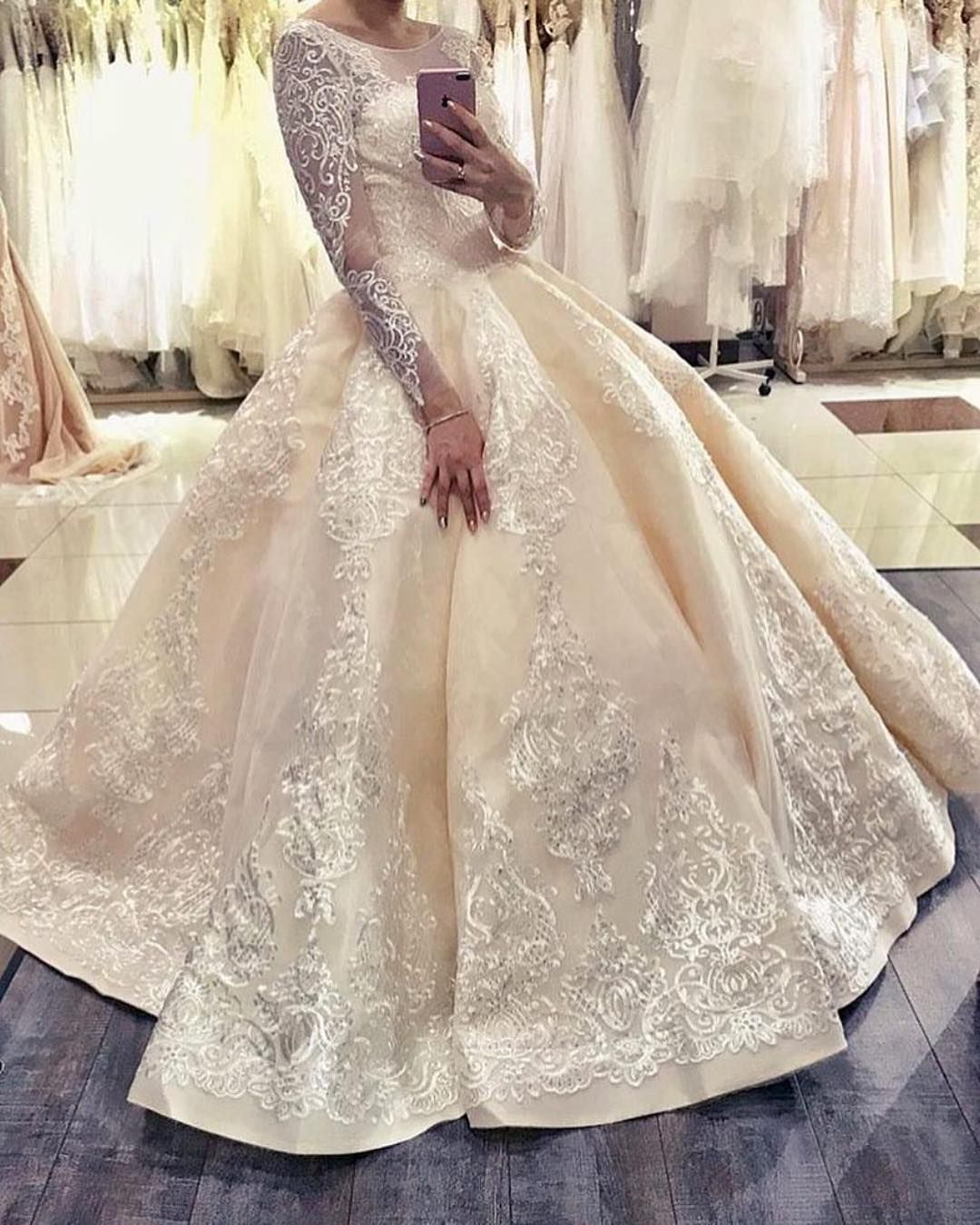 Custom Long Sleeve Wedding Gowns You Can Afford Wedding Gowns Wedding Gowns With Sleeves Wedding Dresses