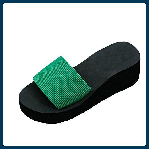 Damen Zehentrenner, Yogogo Sandalen Slipper Indoor Outdoor Flip-Flops Strand Schuhe (38, Hot Pink)