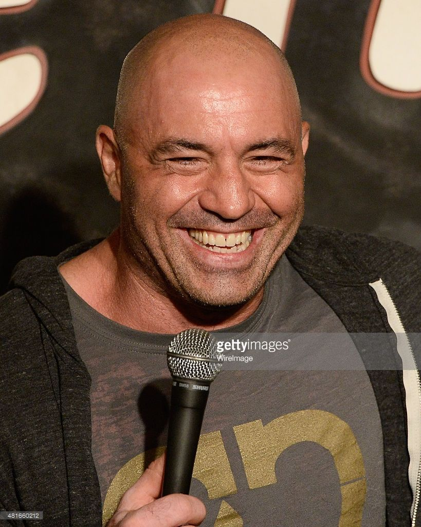 Comedian Joe Rogan performs during his appearance at The Ice