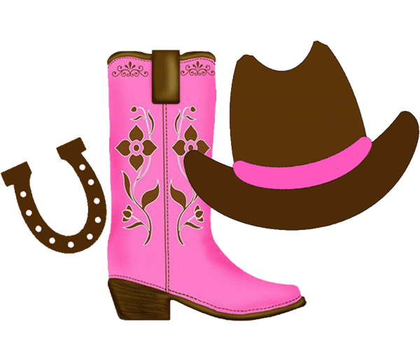 d88e424954b cowgirl clipart | Cowgirl clipart with space on the right for each ...