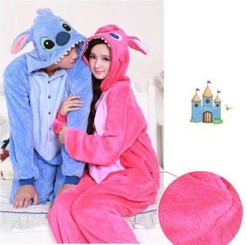 45f1881a125 2020 Nuevo Unisex-Kigurumi Pijamas Erwachsene Anime Cosplay Onesie Stich 4  Tamaños