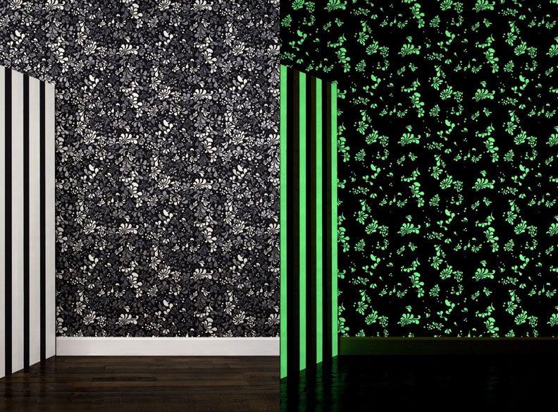 Glow In The Dark Wallpaper By Ich Kars