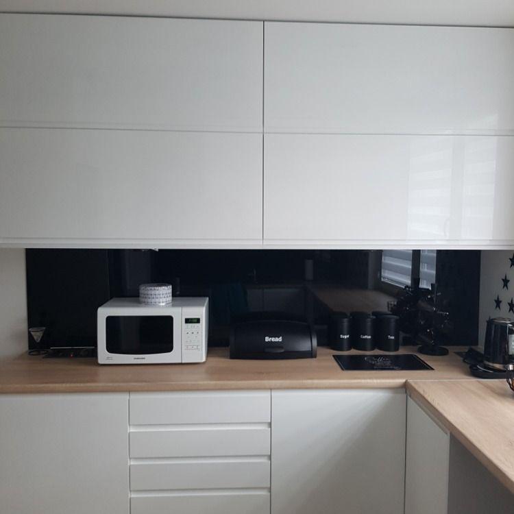 Kuchnia Na Polysk Z Zabudowa Lodowki Kitchen Cabinets Kitchen Home Decor