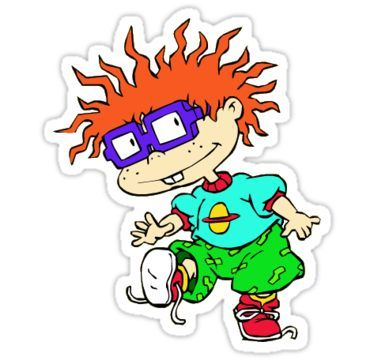 /'/'SIZES/'/' Rugrats Cartoon Sticker Bumper Decal