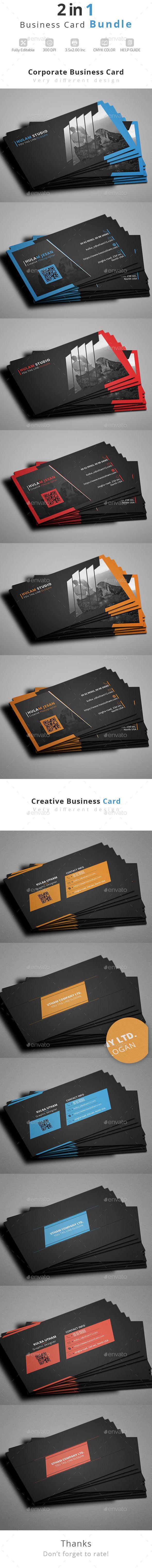 Business card bundle cartes de visita visita e carto business card bundle template psd design download httpgraphicriver reheart Images
