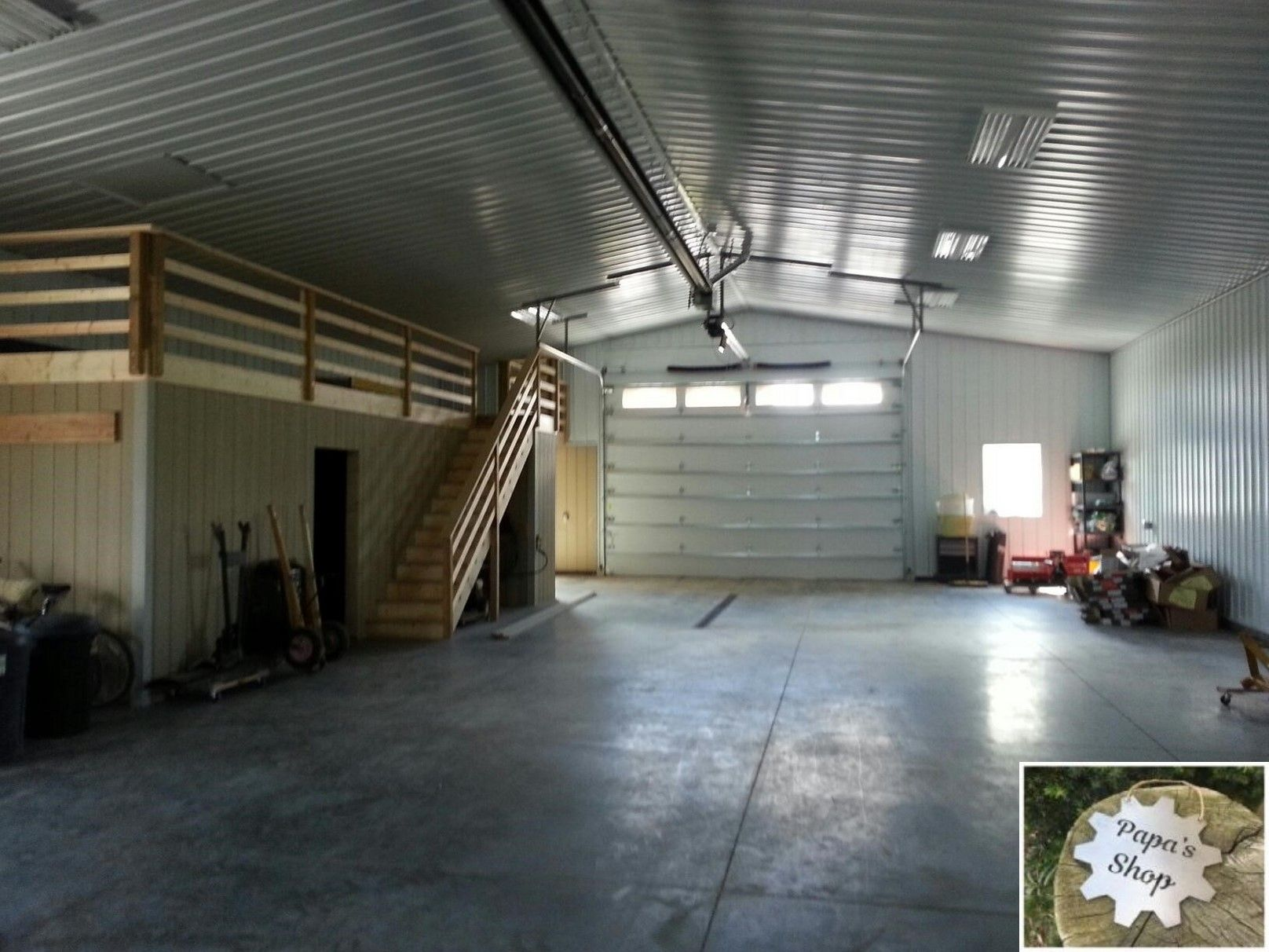 How To Create Your Own Garage Workshop Barn Interior Pole Barn
