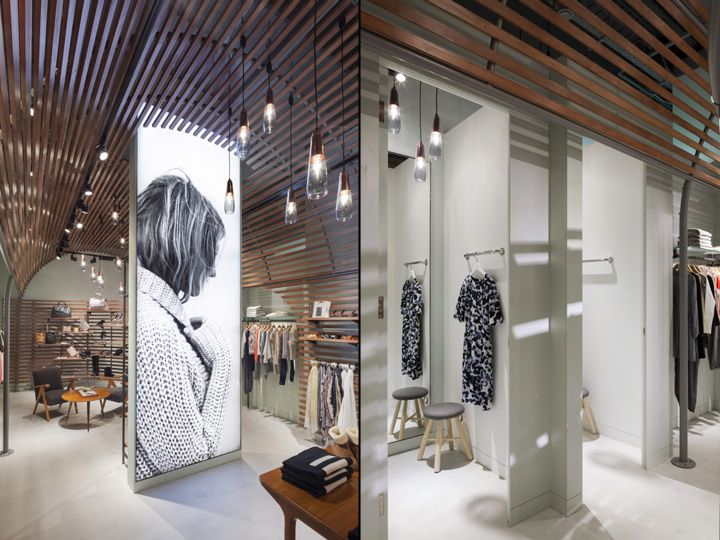 Jigsaw Westfield Store By Checkland Kindleysides London UK Retail Design Blog
