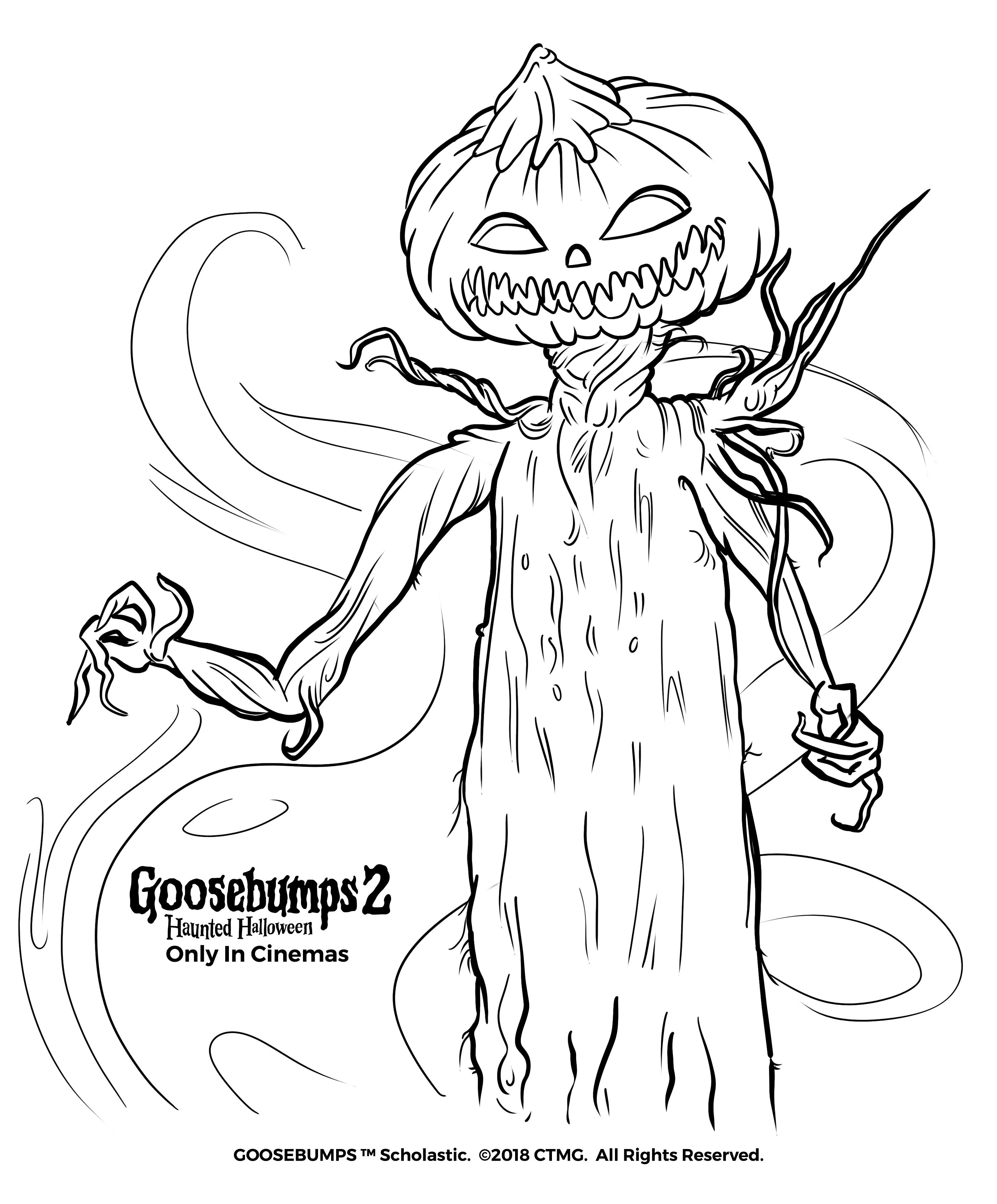 Be Careful With What You Create Goosebumps2movie Halloween Monster Coloring Pages Disney Coloring Pages Coloring Pages