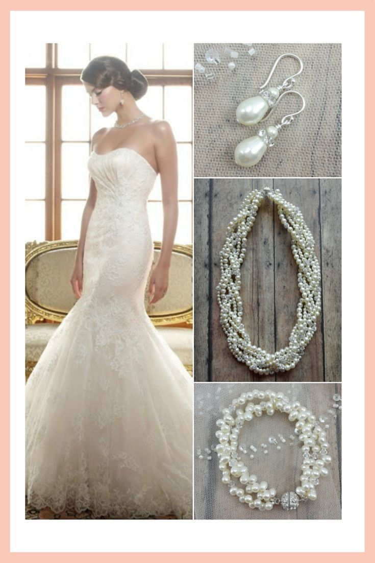 What Jewelry To Wear With A Lace Wedding Dress