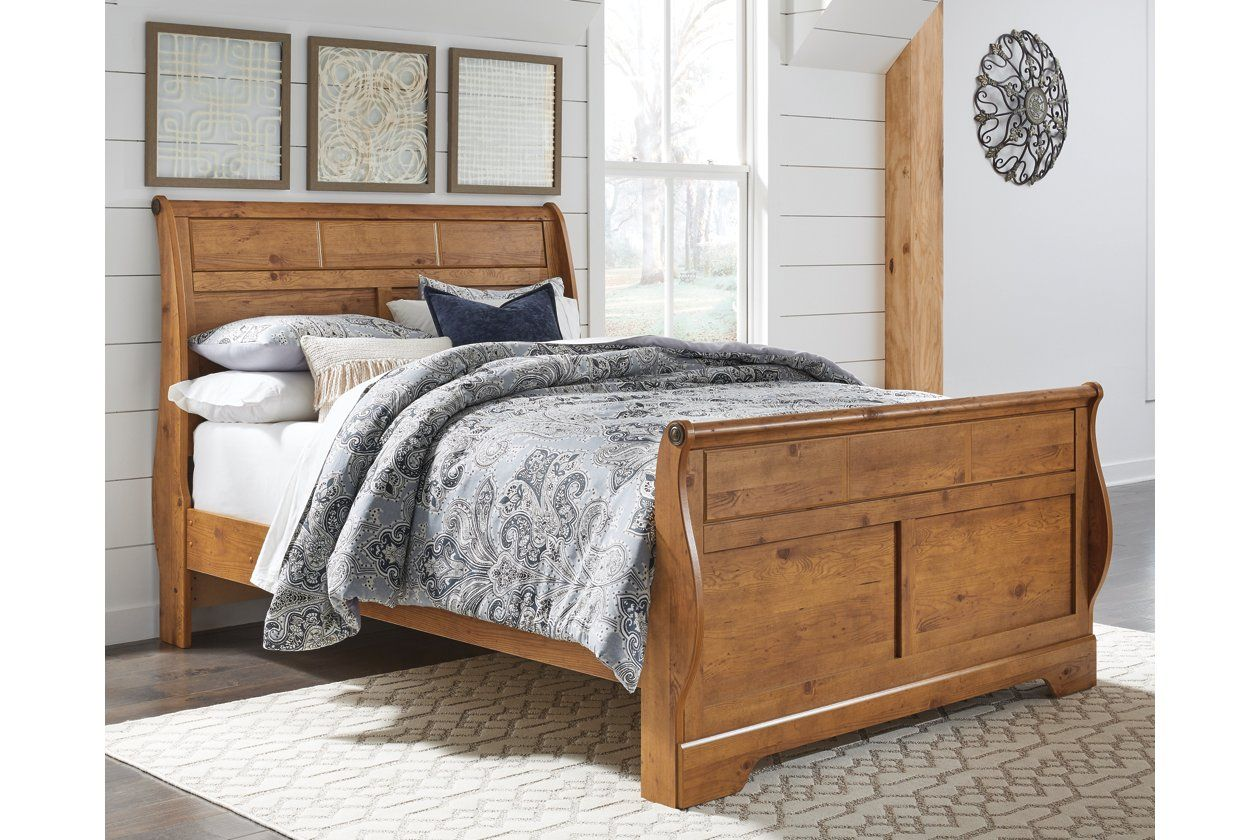 Best Bittersweet Queen Sleigh Bed Ashley Furniture Homestore 640 x 480
