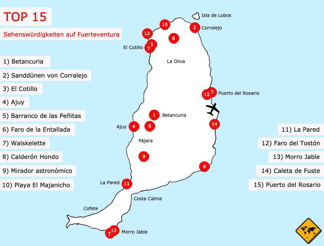 Top 15 Sehenswurdigkeiten Auf Fuerteventura Fuerteventura Fuerteventura Urlaub Teneriffa Urlaub