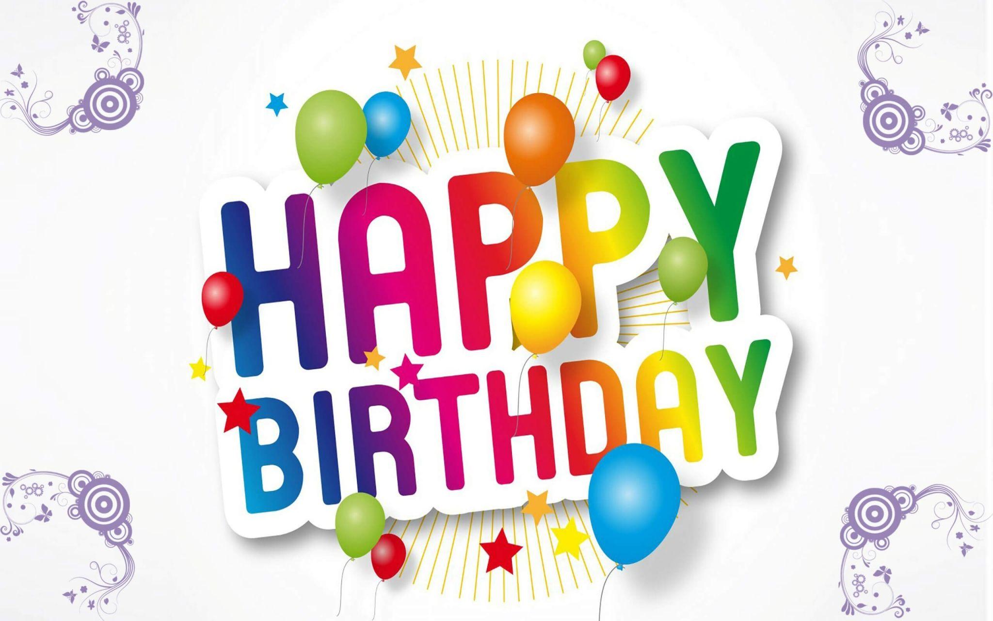 Happy Birthday Hd Widescreen Wallpapers