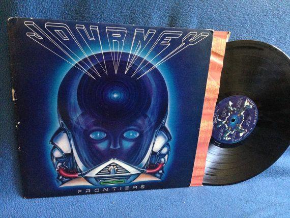Vintage Journey Frontiers Vinyl Lp Record Etsy Vinyl Sales Vinyl Record Album