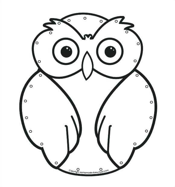 printable paper owl template images of preschool owl craft printable