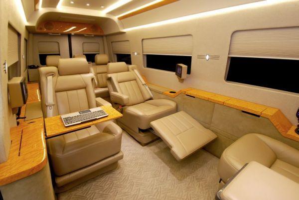 mercedes sprinter van interior mercedes benz sprinter van 4 135x100 private jet interiors. Black Bedroom Furniture Sets. Home Design Ideas
