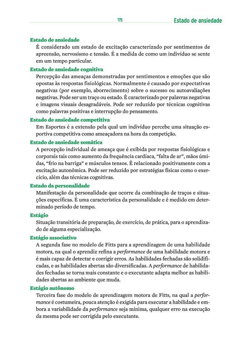 Página 185  Pressione a tecla A para ler o texto da página