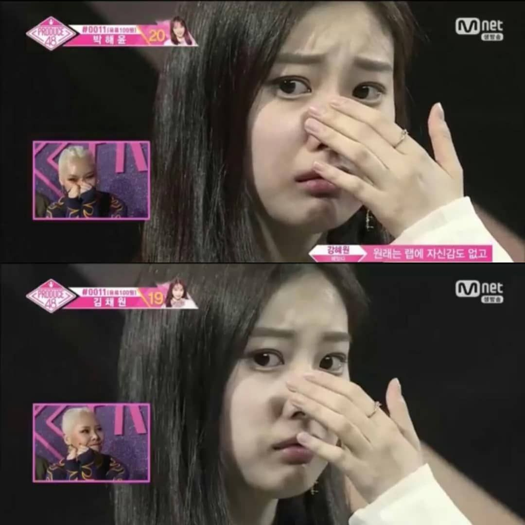 I Cried A Lot During This Part Omg Izone Hyeownizone Produce48