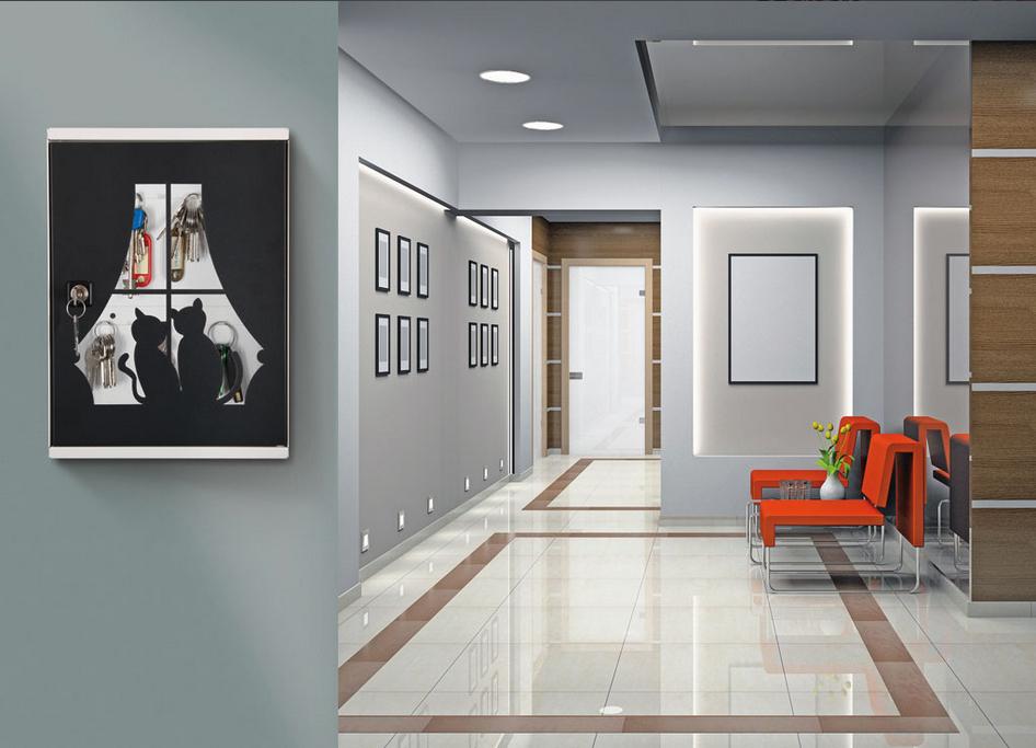 Arredamento Da Interno Moderno.Miakey Il Portachiavi Da Interni Di Design Casa
