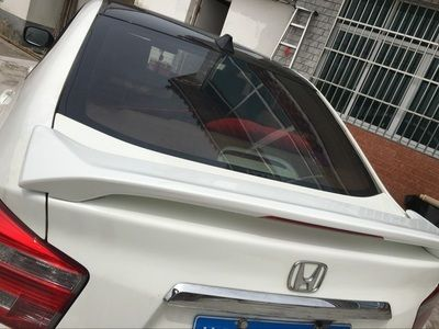 Osmrk Abs Tail Wing Rear Spoiler For Honda City 2009 14 With Light Honda City Honda Abs