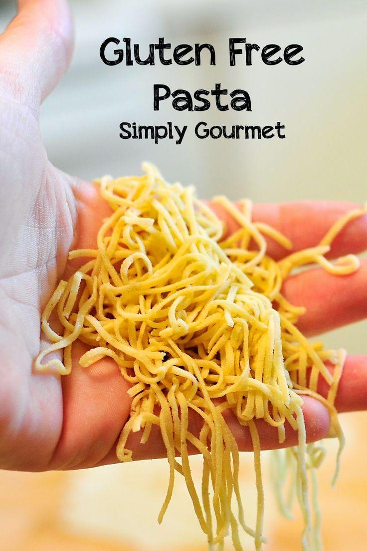 Glutenfreie hausgemachte Pasta, vom Autor gut getestet. über Simply Gourmet -