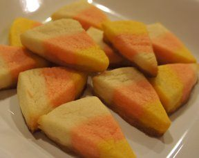 Candy Corn Cookies Recipe