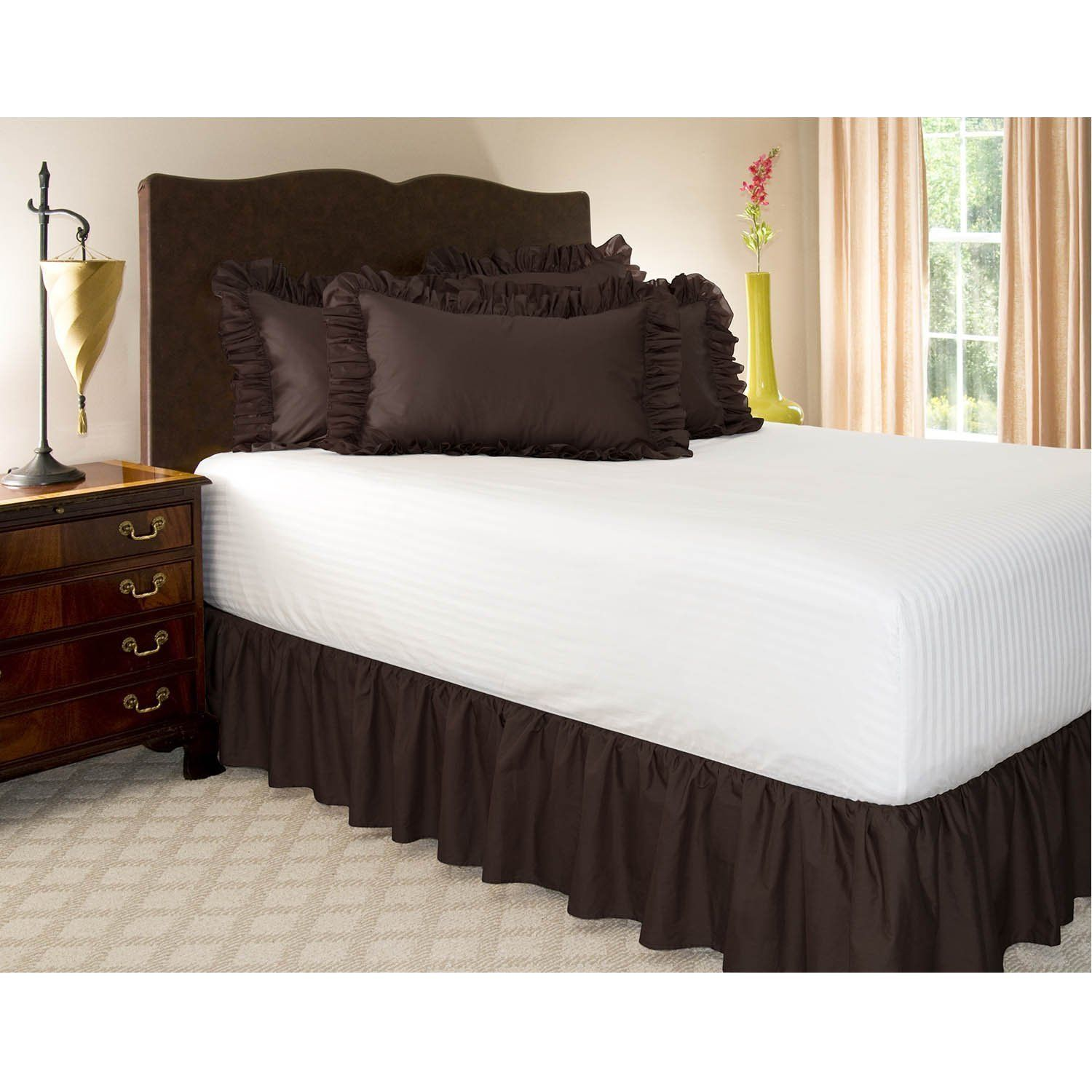 How to Make Bed skirt for Low Profile Box Spring? Bed