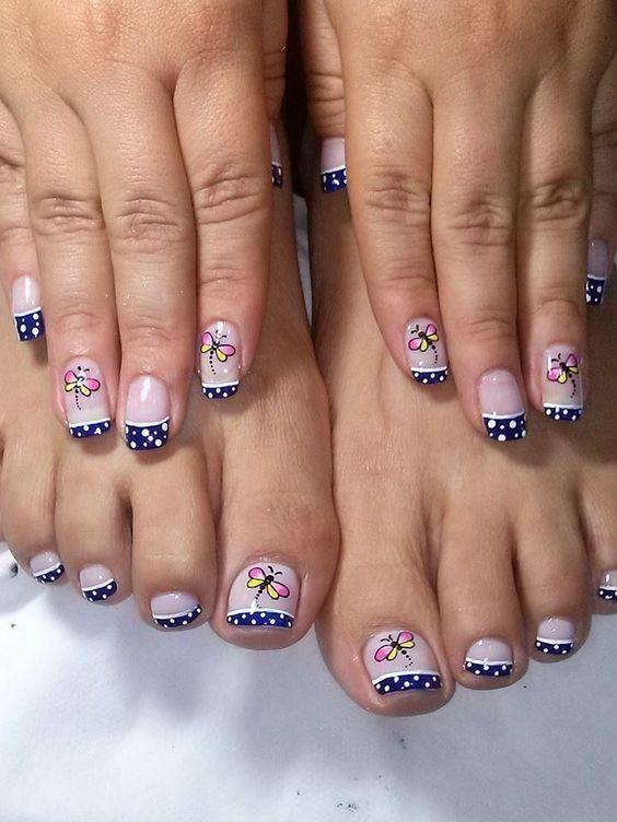 diseo de uas decoradas DISEO UAS PIES Pinterest Manicure