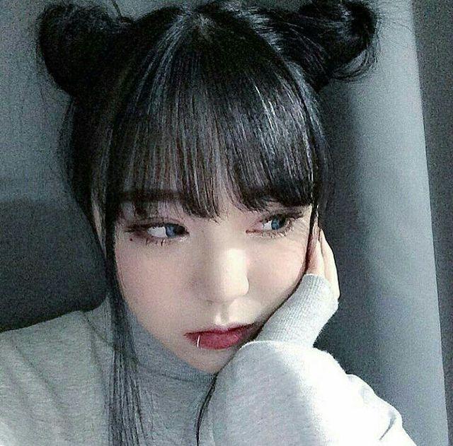 NHH 💓 H A I R S T Y L E Coiffures coréennes, Fille