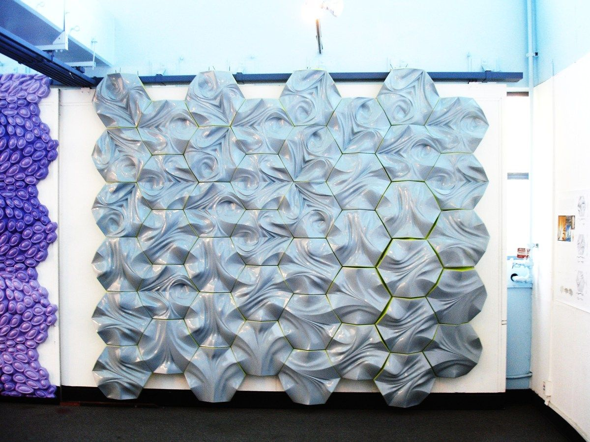 Between the Sheets | Rowan, Construction and Digital fabrication