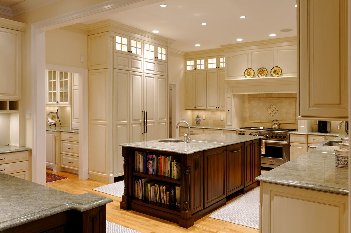 Luxury butlers pantries addition in mclean va for Kitchen designs with butler pantry