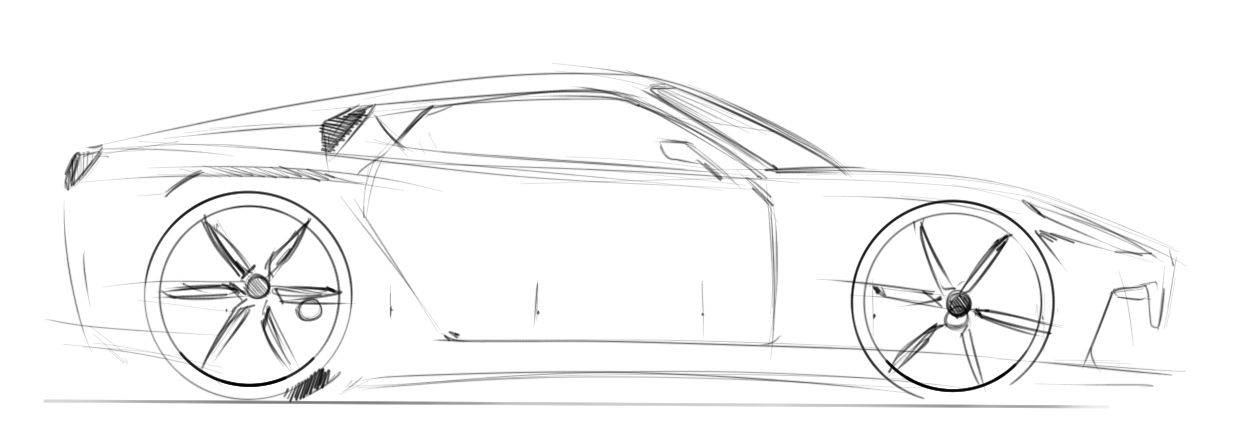 How To Draw Cars Side View Car Side View Car Drawings Drawings