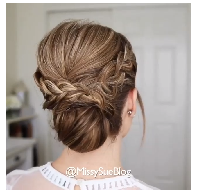 bridesmaid updo tutorial