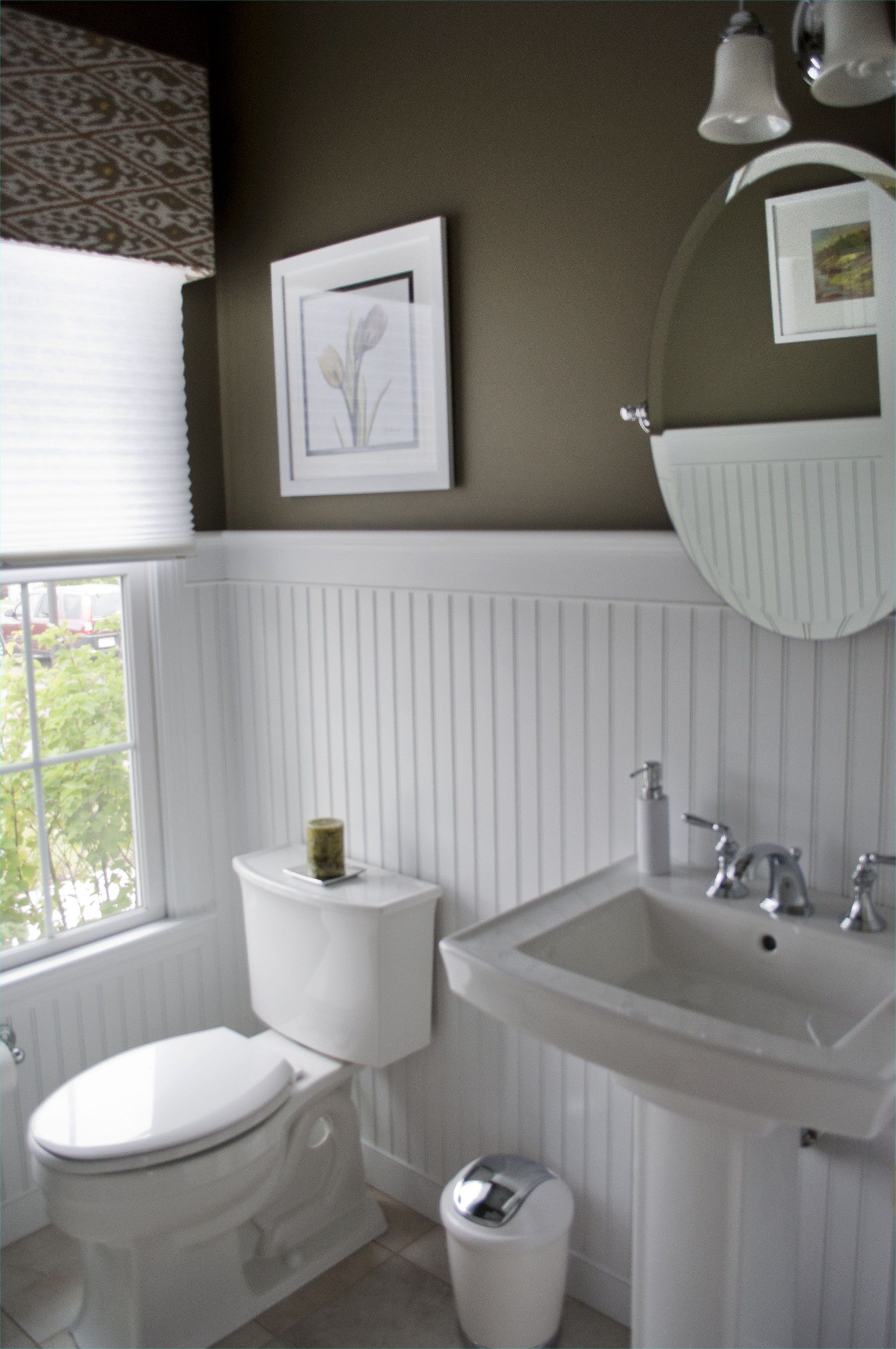Coolest Small Bathrooms With Wainscoting Decorecord Beadboard Wainscoting Beadboard Bathroom White Beadboard