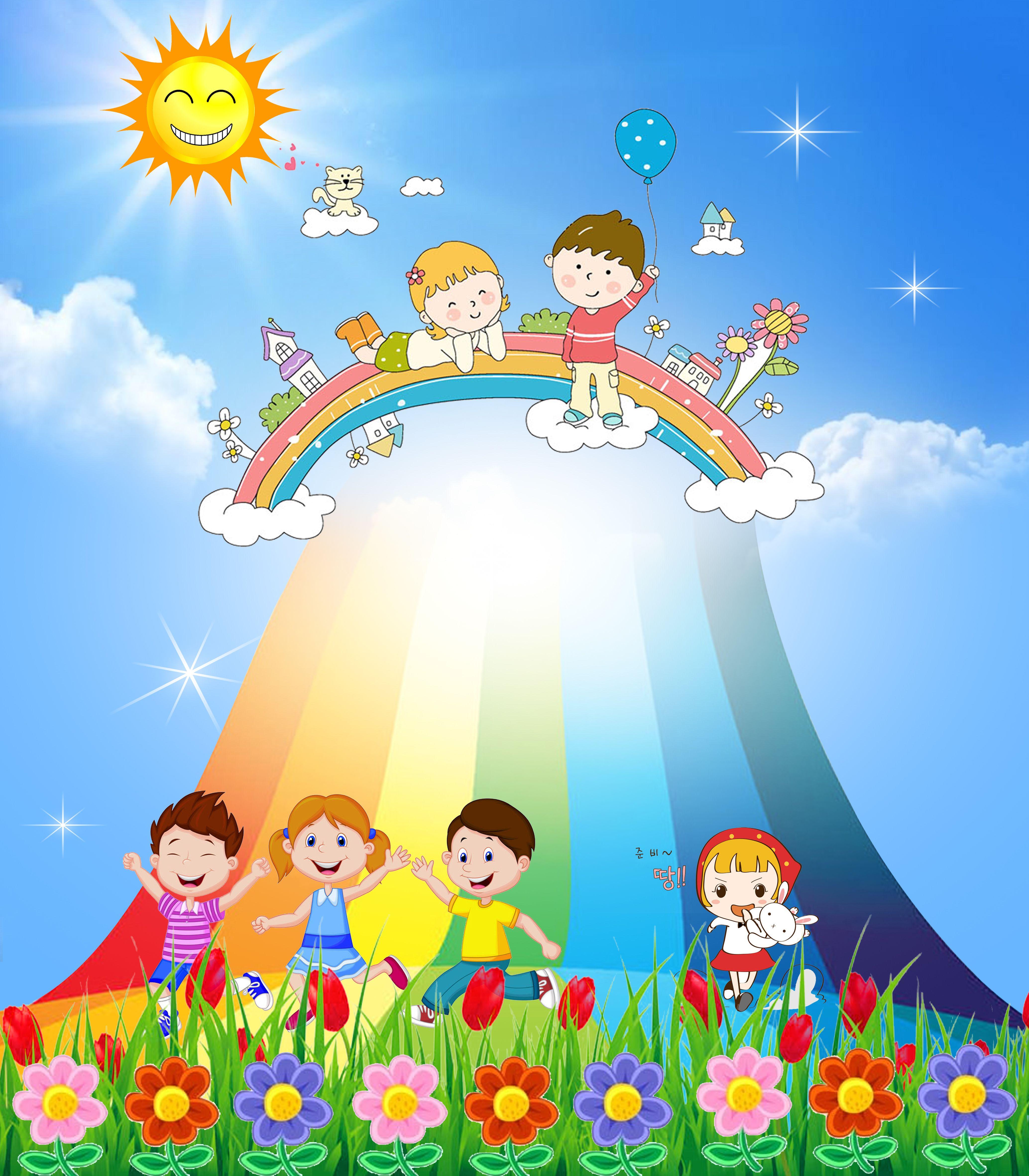Childrens Cartoon Poster Background Preschool Art Activities Art Drawings For Kids Cartoon Posters