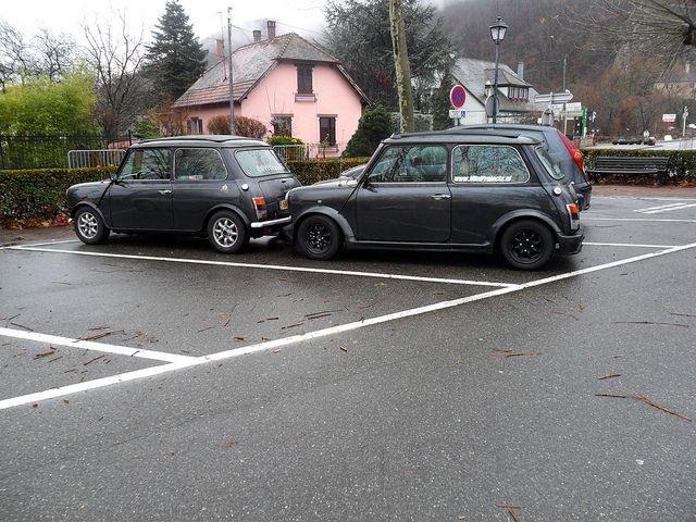 together on 1 parking #mini