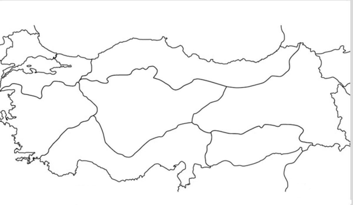 Turkiye Haritasi Boyama Sayfalari Boyama Faaliyetleri 2020 Boyama Sayfalari Turkiye Harita