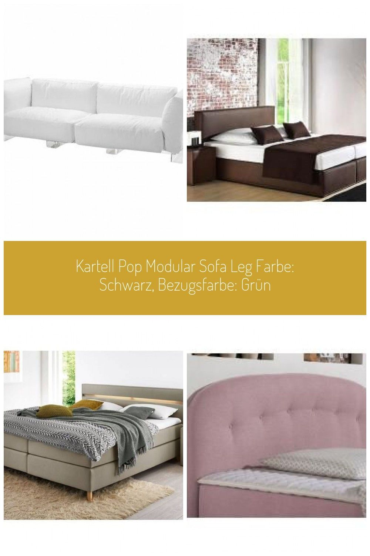 Kartell Pop Modular Sofa Leg Farbe Schwarz Bezugsfarbe Grün Leather Furnitu Aryanna Kartell Pop Modular Sofa Leg F Modular Sofa Sofa Legs Home Decor
