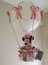 Hot Air Balloon Lamp/light shade. Minnie Mouse, pink | Home Decor in ...