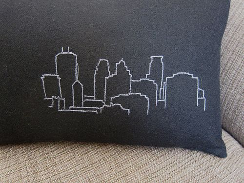 Embroidered Minneapolis And Chicago As Holiday Gifts In 3 Colors