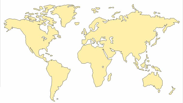خرائط صماء لقارات العالم والمجموعة الشمسية فى مجموعة كاملة لعام 2015 Gold World Map Map Vector Map