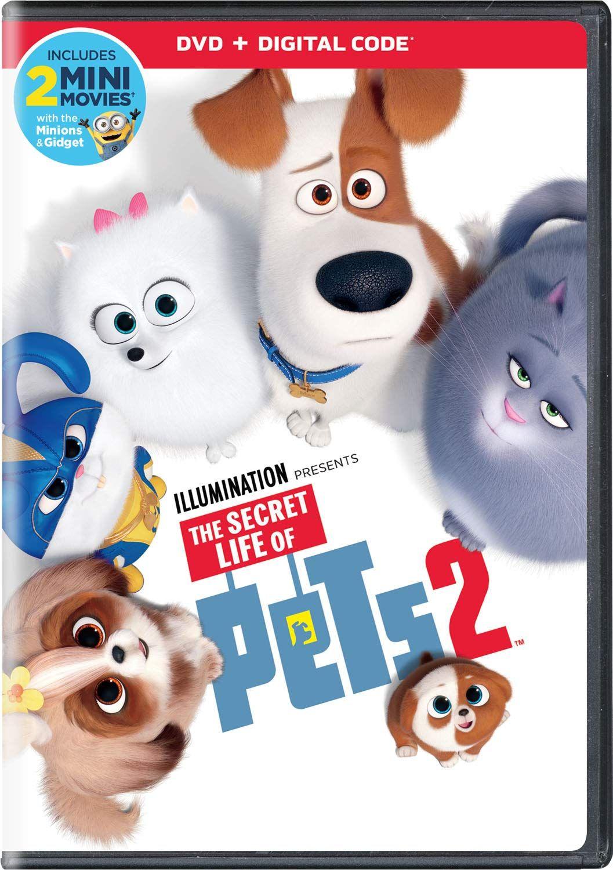 The Secret Life Of Pets 2 Secret Life Of Pets Secret Life Dvd