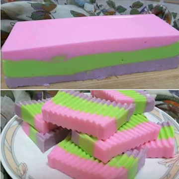 Puding Busa Rainbow Puding Cake Pudding Desserts Gelatin Recipes