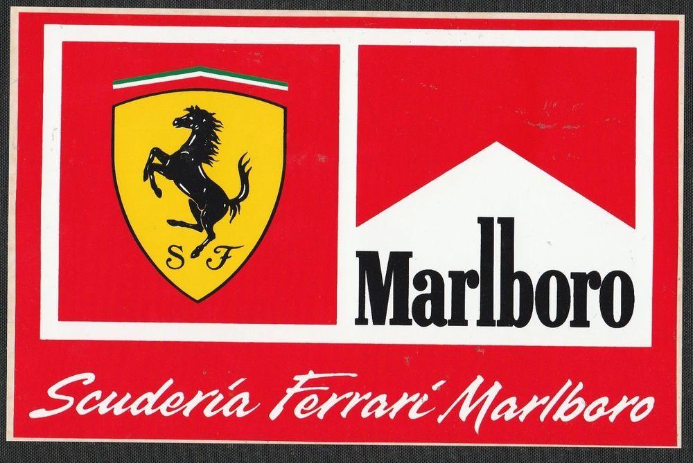 Marlboro Scuderia Ferrari Formula One Team Original Period