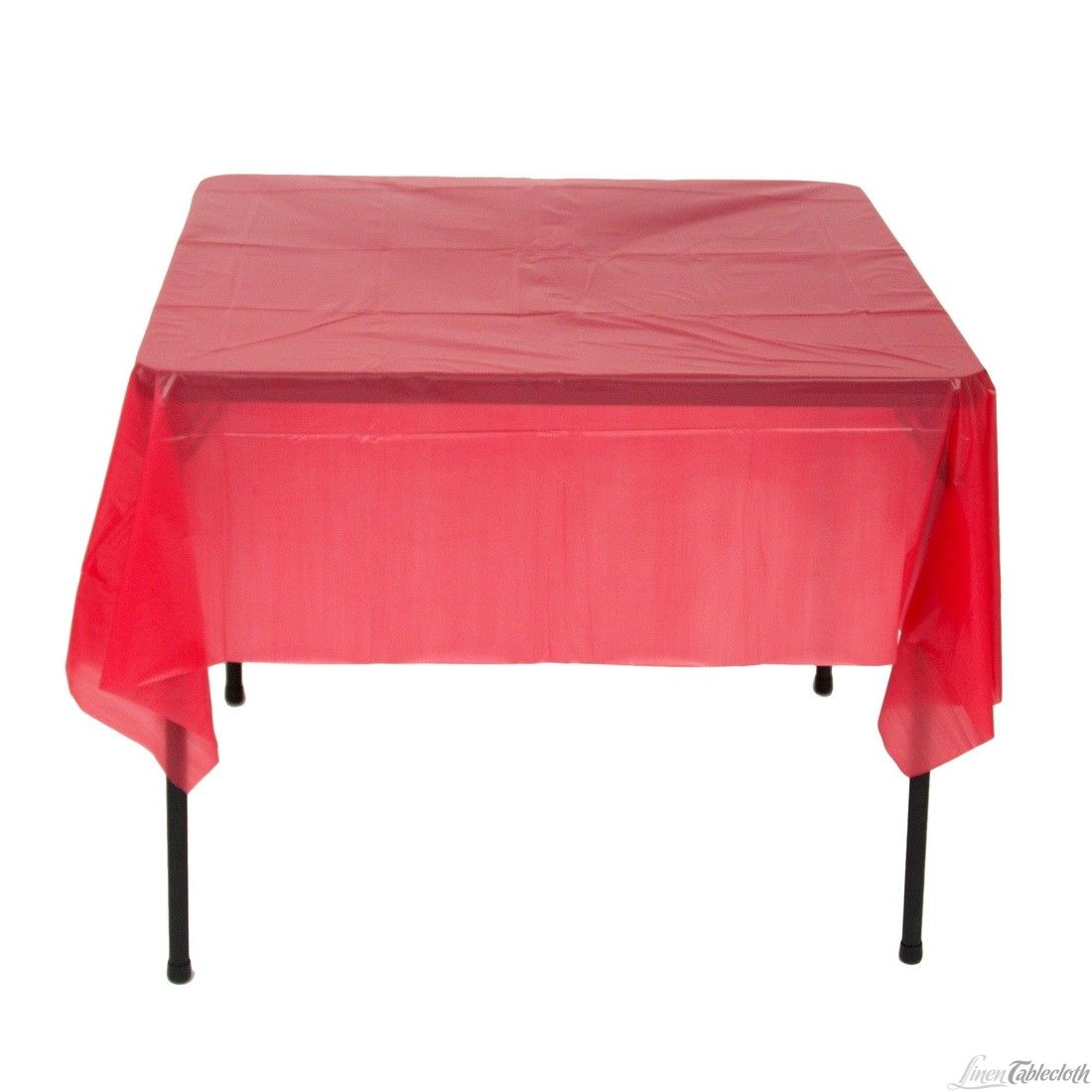 Square Disposable Plastic Tablecloth Red For Only $1.35 At  Linentablecloth.com Perfect For Any Wedding And Event!