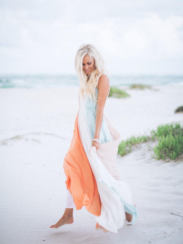 9a7ccd8a8a2d Beach Maxi Mckenna Bleu, Great Lengths, Blue Beach, Beast, Summer, Outfits