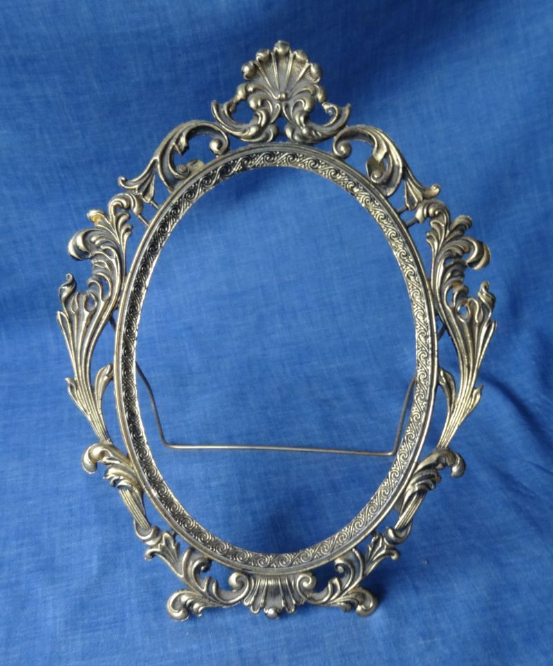 Vintage / Antique Ornate Brass Picture / Photo Frame, Attila Sydney ...