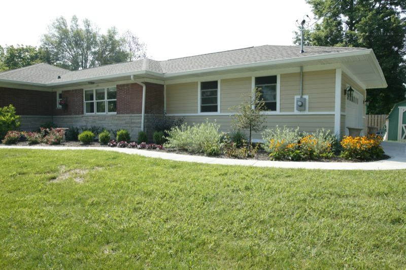 Indianapolis Remodeling Contractor | Thomas J Pearson, Inc. :: Family Room Addition See Before Photos & more projects at our website, ThomasJPearson.com   #indiana #indianapolis #remodel #remodeling #construction #home #house #contractor #family #addition