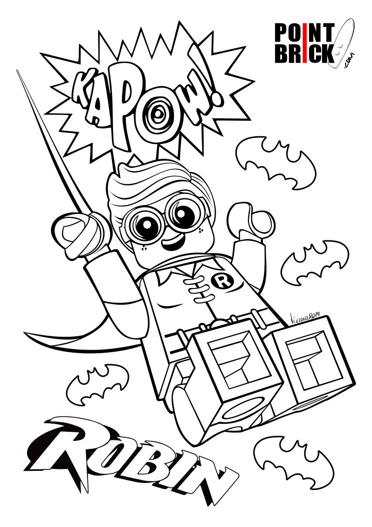 Disegni Da Colorare The Lego Batman Movie Lego Coloring Pages