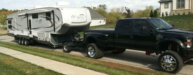 How To Tow A Fifth Wheel Trailer With A Lifted Truck Rv